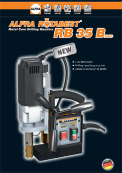 ROTABEST METAL CORE DRILLING MACHINE RB 35 BASIC