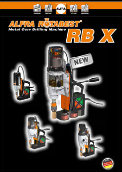 ROTABEST METAL CORE DRILLING MACHINE RB X