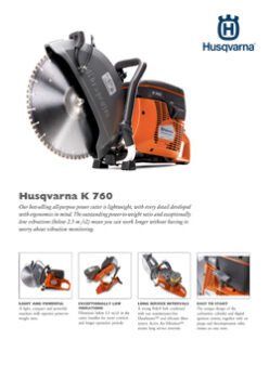 K760 POWER CUTTER SAW