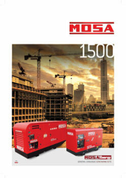 GENERATING SETS 1500RPM